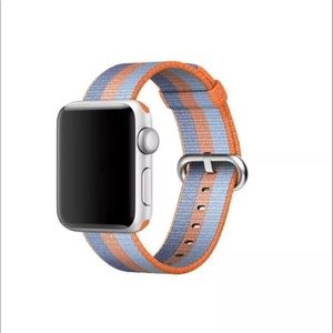 Stripe Woven Nylon Band for Apple Watch